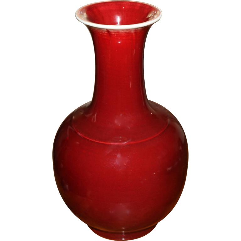 Chinese Oxblood Vase Bridges Over Time