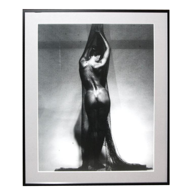 Black & White Nude Digital Print Of Gianpietro Favero Photograph